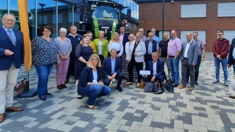 Die Delegierten und Gäste des Kreisverbandes Verden beim Bezirksparteitag