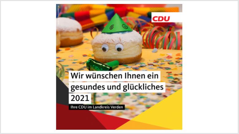 Wir wünschen Ihnen ein gesundes und glückliches 2021!